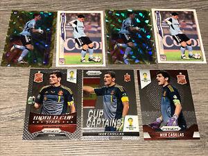 Iker Casillas Spain Real Madrid Panini Prizm World Cup 2014 Fichas 2004 Set X 7