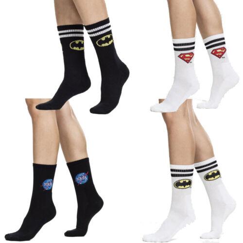 Cheap 2-er Pack Original Batman Superman Nasa Socks Dc Comis Sports Socks free shipping