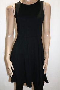COTTON-ON-Brand-Black-Sleeveless-Fit-amp-Flare-Dress-Size-S-BNWT-SA104