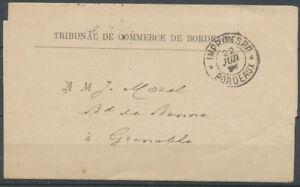 1893-Avis-tribunal-tarif-des-imprimes-Obl-CAD-IMPRIMES-P-P-BORDEAUX-X3653