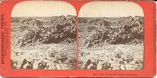 Louis Heller Stereoview of the Modoc War 1873 – Lava Bed Looking Northwest