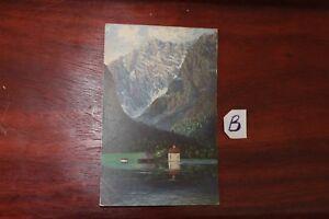Uni Carte Postale Beyern St Bartholomä Le Königssee-afficher Le Titre D'origine AgréAble En ArrièRe-GoûT