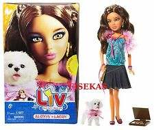 Liv Real Girl Fashion Doll Alexis and Lacey pet dog 2009 NEW RARE Hard to find