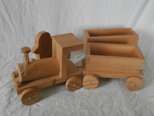 Bauernhof Spielzeug Bauernhof Holzfahrzeuge Traktor Anhänger Kipper 4-tlg Set