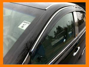 Toyota Camry Window Visors With Chrome Trim 07 11 Ebay