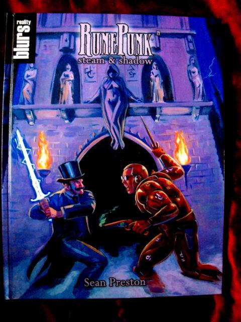RUNEPUNK. Savage Worlds Roleplaying Game RPG OOP *VERY RARE* Steam & Shadow