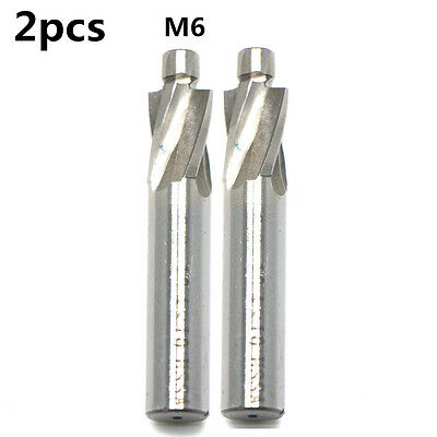 M18 18.5x28mm Drill Bit 4Flute Countersink HSS End Mill Cutter Pilot Slot Tool