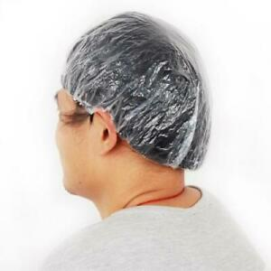 100-Disposable-Waterproof-Shower-Hair-Caps-Dye-Coloring-Cover-Hat-Spa-Salon