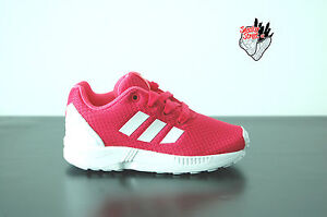 newest 9f96f edb1f Details about Adidas Originals ZX Flux Kids/Juniors purple red size uk 7.5  / uk 8.5 m21123
