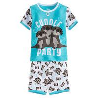 Disney Store Finding Dory Sz 3 4 5 6 7 Otters Cuddling 2pc Pajamas Girls
