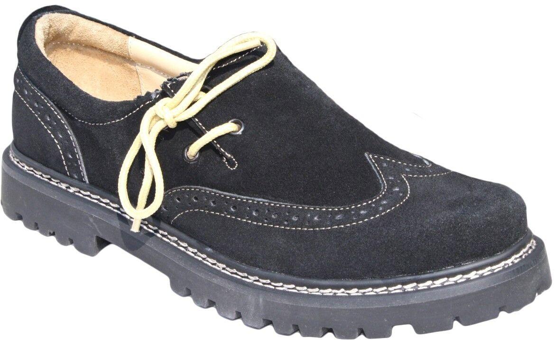 Trachtenschuhe Oktoberfest Haferlschuhe Brogue echtem Leder Oktoberfest Trachtenschuhe Schuhe Schwarz 2f3b46