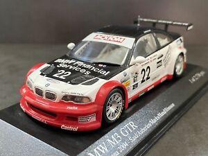 1:43 MINICHAMPS BMW M3 GTR 24hr Daytona 2004 #22 1 Of 2,736 MODEL CAR *RARE