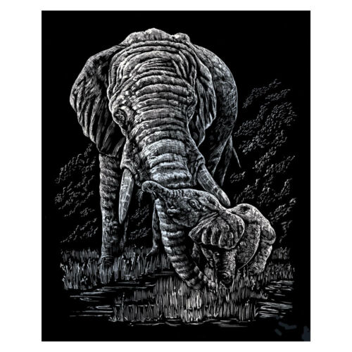 Royal Langnickel Gravure Art//Scraperfoil-Divers-Feuille d/'Argent Silverfoil