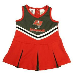 7dbe7a49 New NFL Tampa Bay Buccaneers Toddler Girls Cheerleader Dress Sizes ...