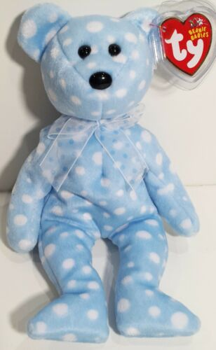 """TY Beanie Babies /""""BUBBLY/"""" Teddy Bear RETIRED GREAT GIFT! A MUST HAVE MWMTs"""