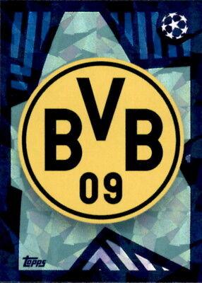 AnpassungsfäHig Topps Champions League 18/19 - Sticker 136 - Club Logo Mit Den Modernsten GeräTen Und Techniken