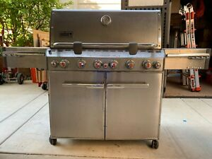 Weber Summit S-670 6-Burner Propane Gas Grill: Stainless Steel