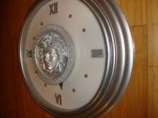 20'' Medusa Showroom Wall Clock ,display ,,,Million $$$$$$$ clock silver, huge