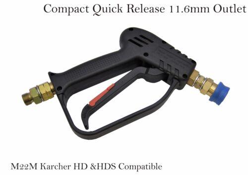 Pressure Washer Quick Release Wash Gun Multi Nozzles Set 0° 15° 25° 40°,M22M