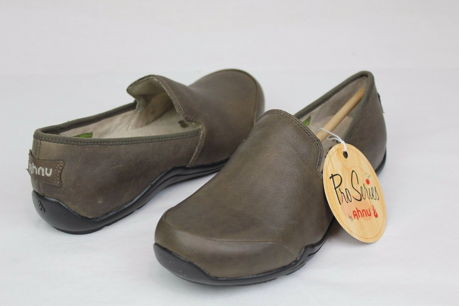 Ahnu femmes  Penny Pro Chaussures Walnut Brown Leather