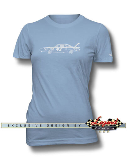 Petty NASCAR T-Shirt for Women  Multiple Colors Sizes 1970 Plymouth Superbird R