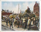 Soldiers Feed Reception War Deutsches Heer WWI WELTKRIEG 1918 CHROMO