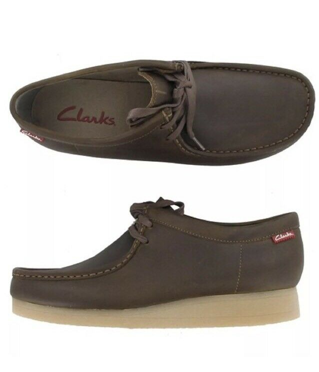 Clarks J Stinson Lo Beeswax sz 10 M shoes - New ! 26066018