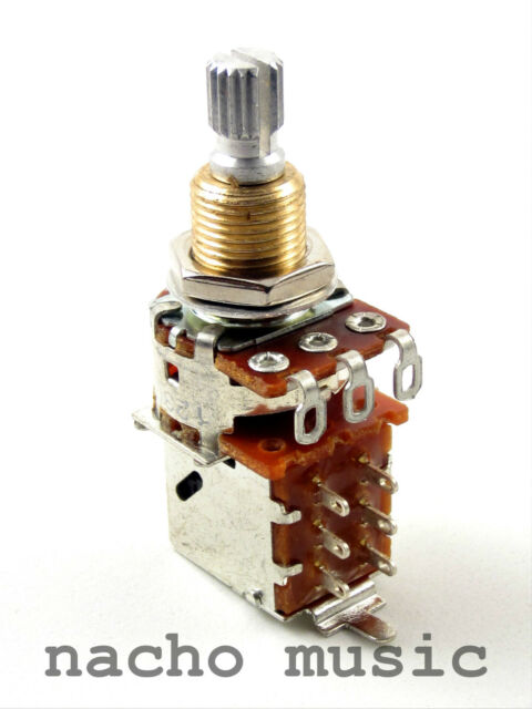 Bourns 250K Audio Taper Push-Pull Potentiometer / Pot
