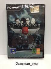 COMMANDER EUROPE AT WAR (PC) VIDEOGIOCO NUOVO SIGILLATO NEW GAME