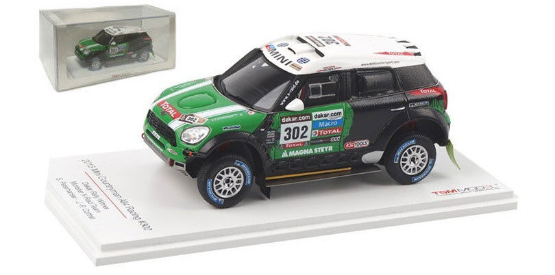 TrueScale mini compatriote ALL4 RACING   302 Winner Dakar 2013 s PETERHANSEL 1 43