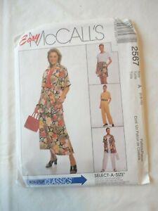 Vintage 2000 Sewing Pattern Shirt ,Top , Pants , Short & Skirt Size 6-8-10 Uncut