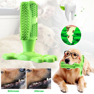 Dog-Toothbrush-Chew-Stick-Cleaning-Toy-Silicone-Pet-Brushing-Oral-Dental-Care