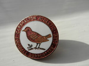 RARE OLD FOOTBALL BADGE CARSHALTON ATHLETIC SUPPORTERS CLUB MILLER NON LEAGUE - Scarborough, North Yorkshire, United Kingdom - RARE OLD FOOTBALL BADGE CARSHALTON ATHLETIC SUPPORTERS CLUB MILLER NON LEAGUE - Scarborough, North Yorkshire, United Kingdom
