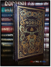 Tales of Norse Mythology Brand New Sealed Leather Bound Gift Hardback Viking Age