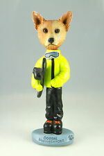 Snowboarder Aussy Cattle Dog-See Interchangeable Breeds & Bodies @ Ebay Store