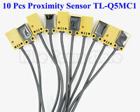 10pcs Tl-q5mc1 Dc 12-24v 50ma Npn Inductive Proximity Switch Sensor Normal Open