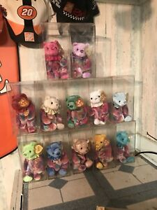 2001 Set of 12 TY HAPPY BIRTHDAY Beanie Bears-All 12 Months-NEW Mint ... af815beb10e1
