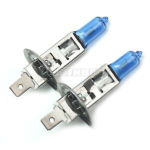 2x-H1-Ampoule-Feux-Blanc-Halogene-De-Auto-Voiture-Lampe-4500-6500K-12V-100W