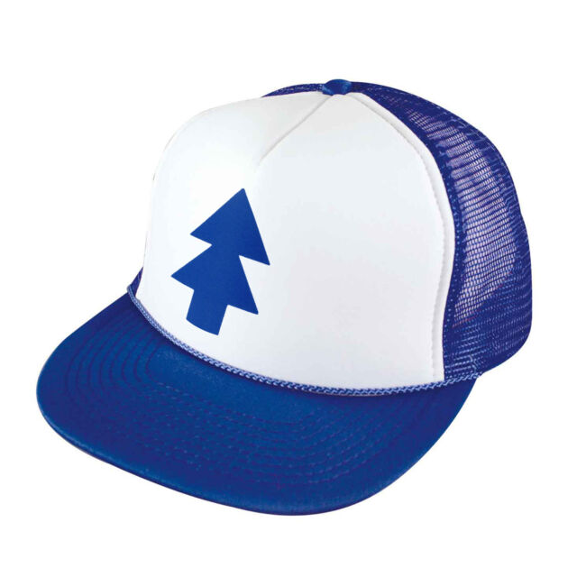 Gravity Falls DIPPER HAT Adjustable Mesh Trucker Cap Funny Awesome Kids  Adults 5d18b2537399