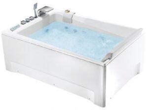 Vasche Da Bagno Da Incasso : Vasca da bagno idromassaggio 180x120 da incasso 36 getti airpool