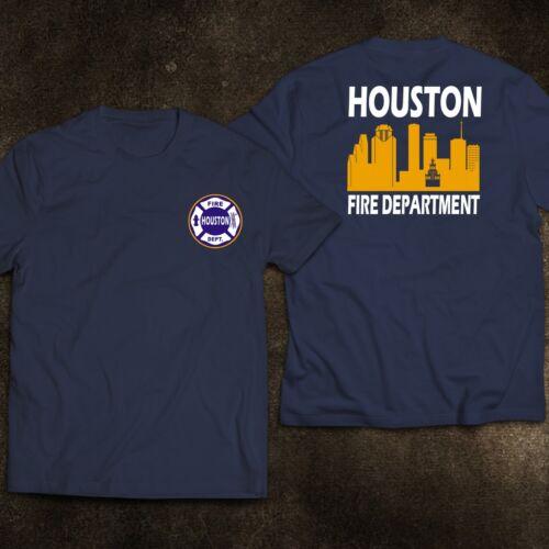 New Houston City For Texas Fire Firefighter Fire Department Rare Firearm T-Shirt