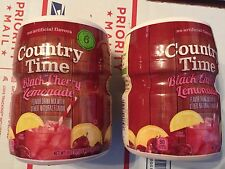 Country Time Black Cherry Lemonade Flavor Mix, 18.3 Ounce (Pack of 2)