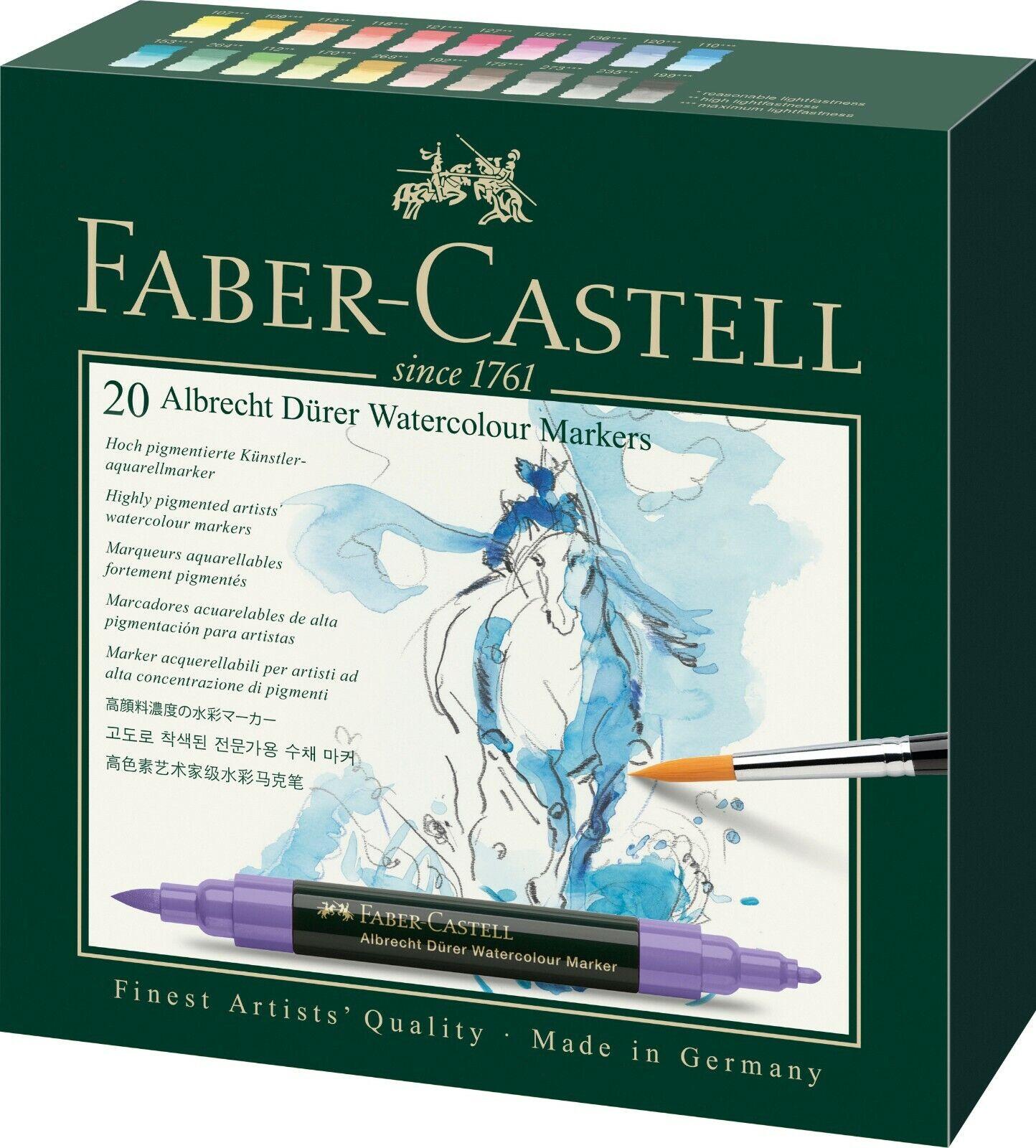 Faber Castell Aquarellmarker Albrecht Dürer 20er Etui | Deutschland Store  | Deutschland Shop  | Fein Verarbeitet