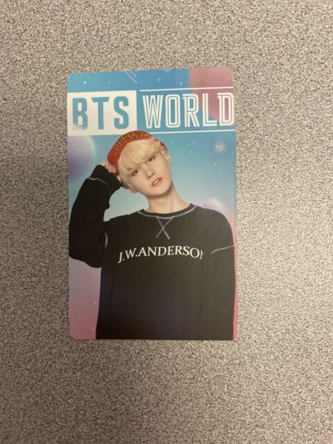 BTS World Pre-order Tag Yoongi/Suga Photocard - DAMAGED: Read Note