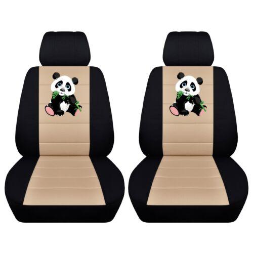 Car SUV Seat Covers 2013-2018 Toyota RAV4 Personalize Panda Design ABF