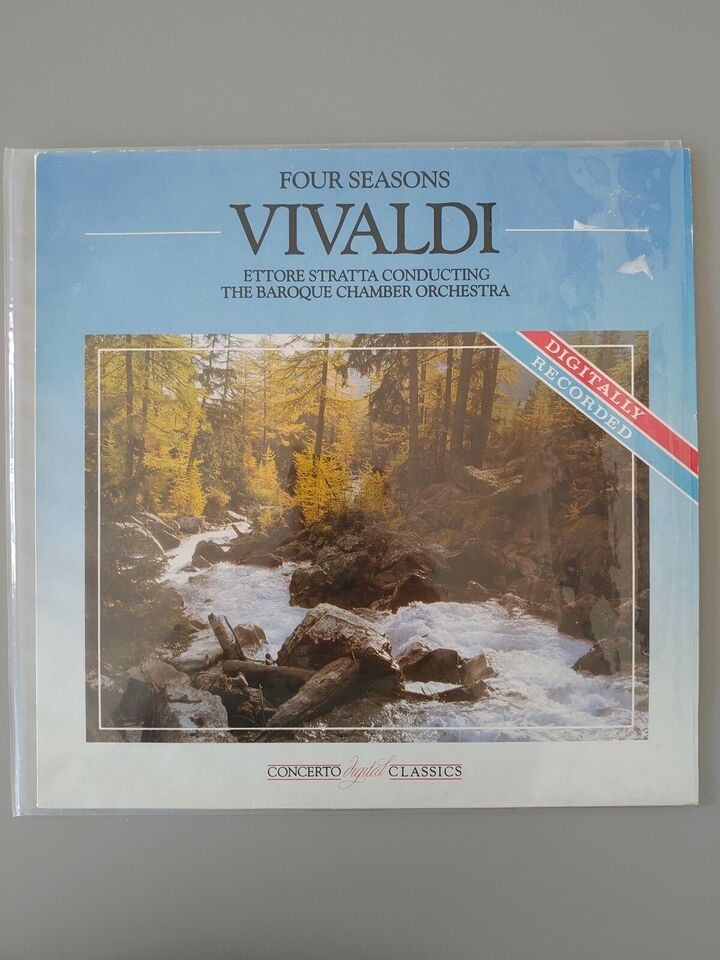 LP, Vivaldi, Four seasons