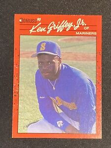 1990 Donruss Ken Griffey Jr HOF #365 ERROR CARD. No Period After Inc. VERY RARE!