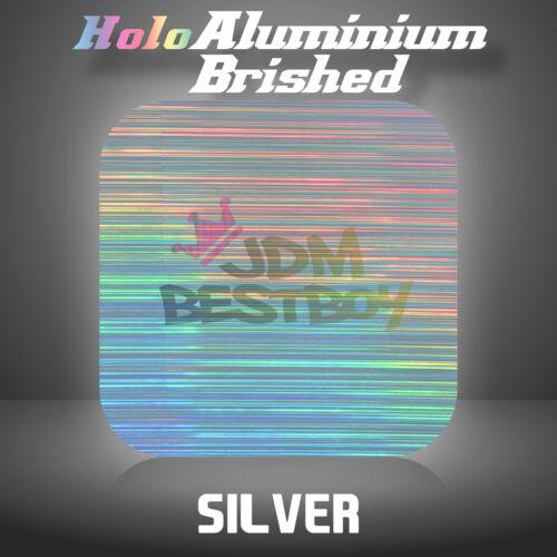 "Holographic Aluminum Heat Transfer Vinyl HTV T-Shirt 20/"" Wide Iron On Heat Press"