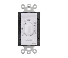 Indoor Mechanical Countdown Timer Dial White Light Switch Bathroom Exhaust Fan