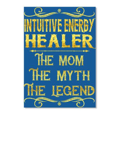 Portrait Intuitive Energy Healer The Mom Myth Legend Sticker